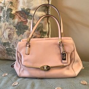 Authentic Pink Coach Handbag